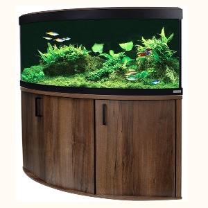 fluval venezia 190 led aquarium and cabinet set walnut fluval venezia 190 aquariums fluval. Black Bedroom Furniture Sets. Home Design Ideas