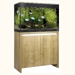 Fluval Roma 125 LED Aquarium and Cabinet Set - Oak