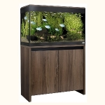 Fluval Roma 125 LED Aquarium and Cabinet Set - Walnut