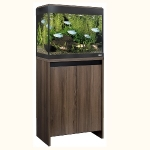 Fluval Roma 90 LED Aquarium and Cabinet Set - Walnut