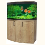 Fluval Vicenza 180 LED Aquarium and Cabinet Set - Oak