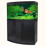 Fluval Vicenza 180 LED Aquarium and Cabinet Set - Black