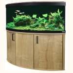 Fluval Venezia 190 LED Aquarium and Cabinet Set - Oak