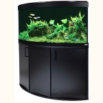 Fluval Venezia 190 LED Aquarium and Cabinet Set - Black